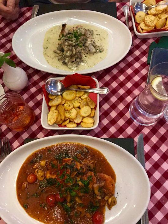 Little Italy Restaurant St Andrews Menu